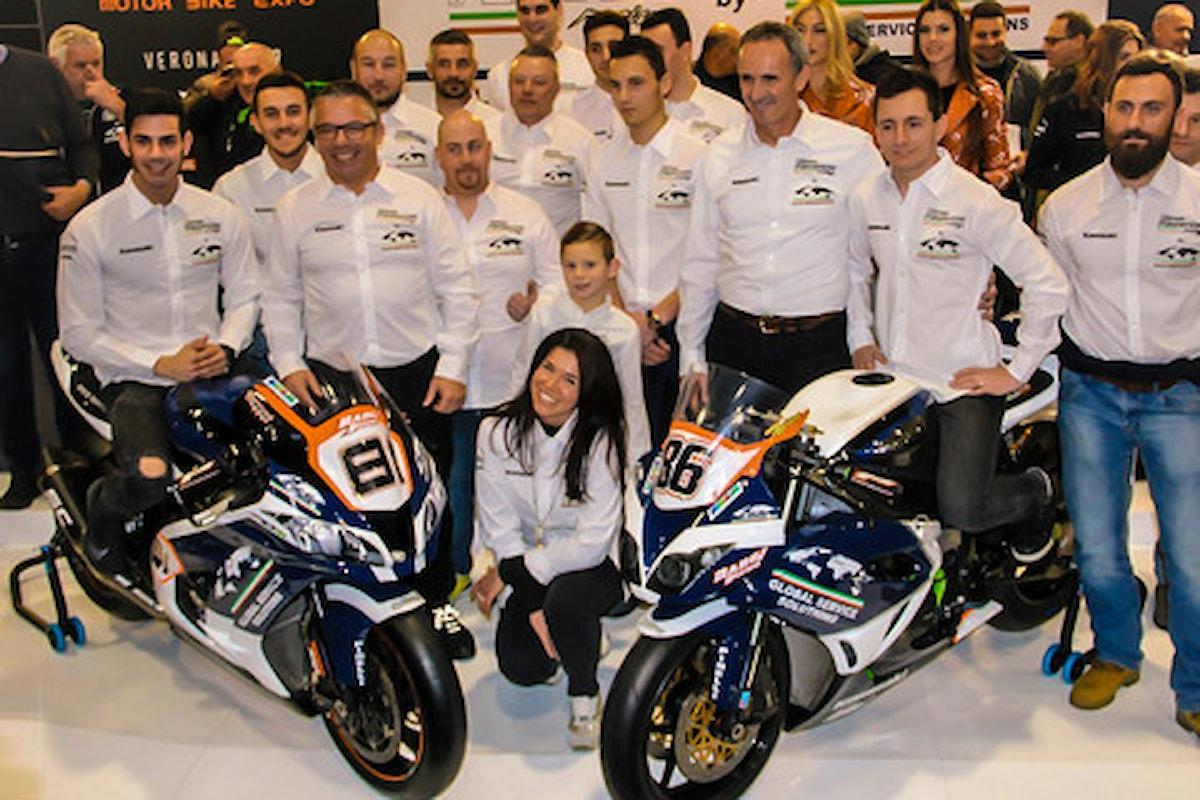 Team Pedercini Racing by Global Service Solutions Spa presentato al Motor Bike Expo