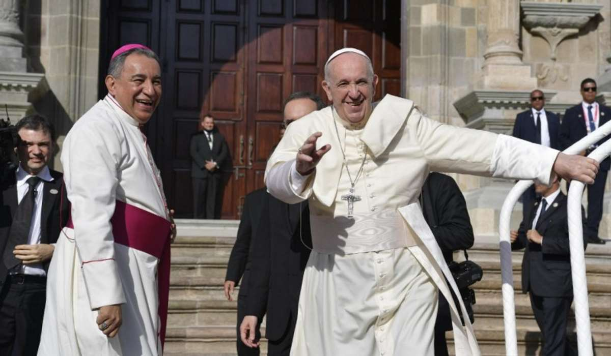 Il Papa a Panama nella messa di sabato: Dammi da bere è quello che chiede il Signore...