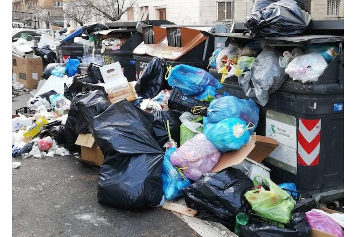 La spazzatura a Roma e la chiamata alle armi di Virginia