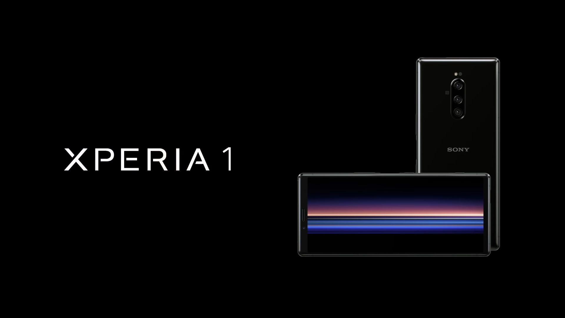 Sony Xperia 1 presentato ufficialmente: ha una forma che può sembrare strana, ma in realtà è quasi perfetto