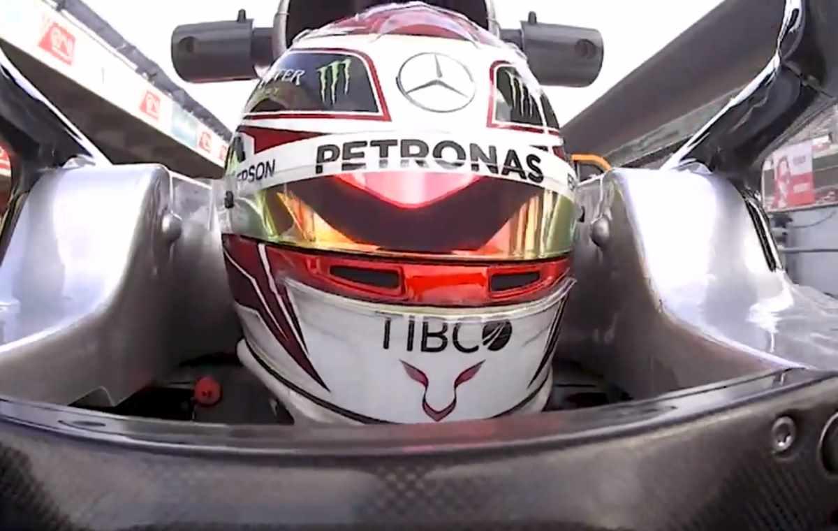 Formula 1, per Hamilton la Ferrari 2019 è molto molto forte