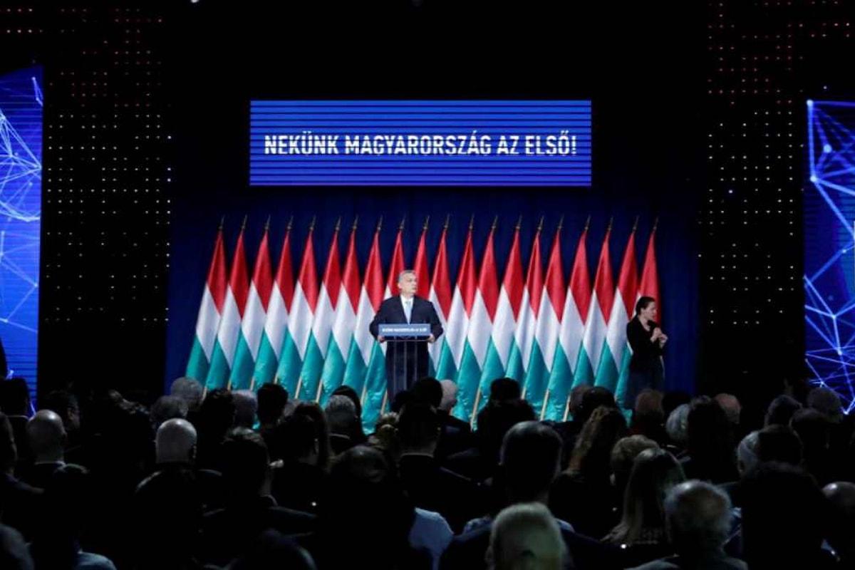 Orban annuncia un programma per avere più bambini ungheresi