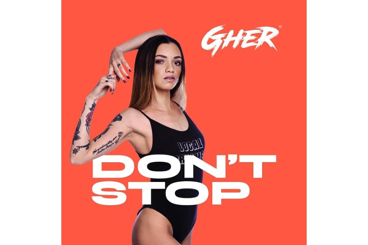 Gher, Don't Stop disponibile su Spotify