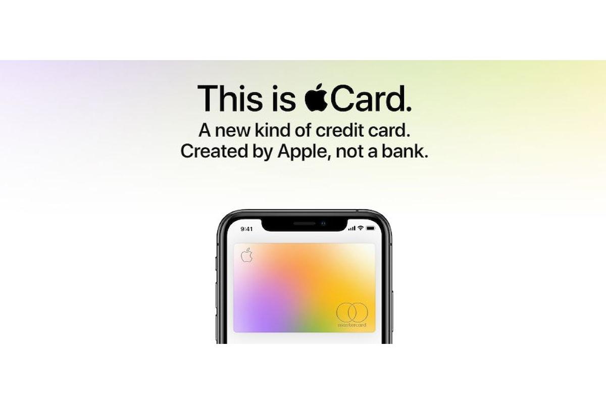 Apple Card presentata ufficialmente: la carta di credito di Apple a costo zero e che ti fa anche guadagnare