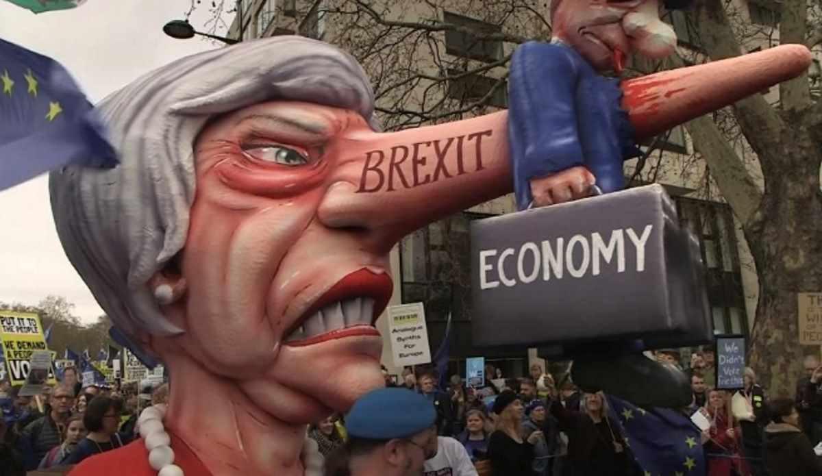 Oltre un milione di britannici per le vie di Londra chiedono un nuovo referendum sulla Brexit