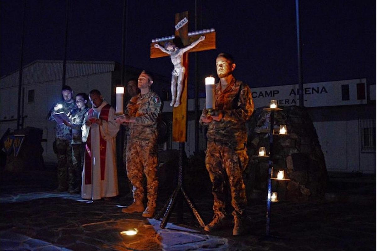 Afghanistan: come i militari italiani hanno celebrato la Pasqua