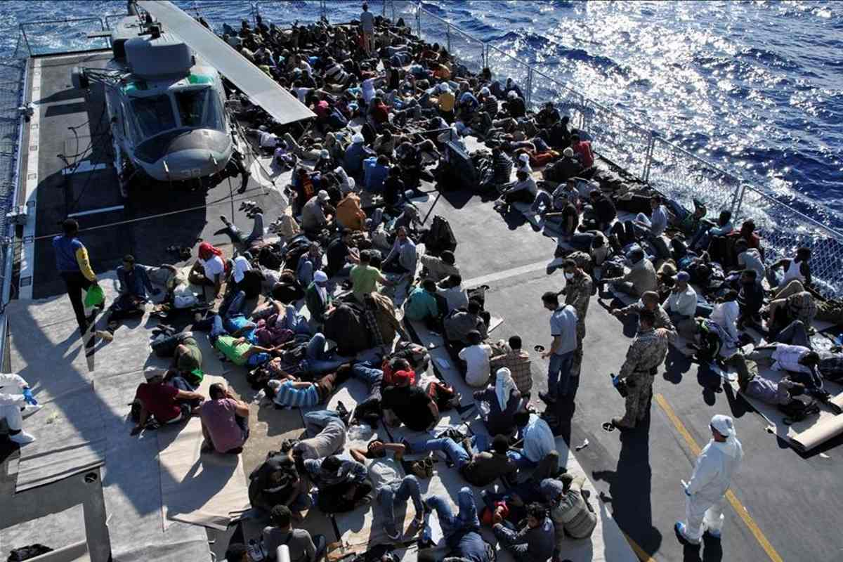 In Italia vi è un'emergenza migranti irregolari? Adesso Salvini dice che non è così