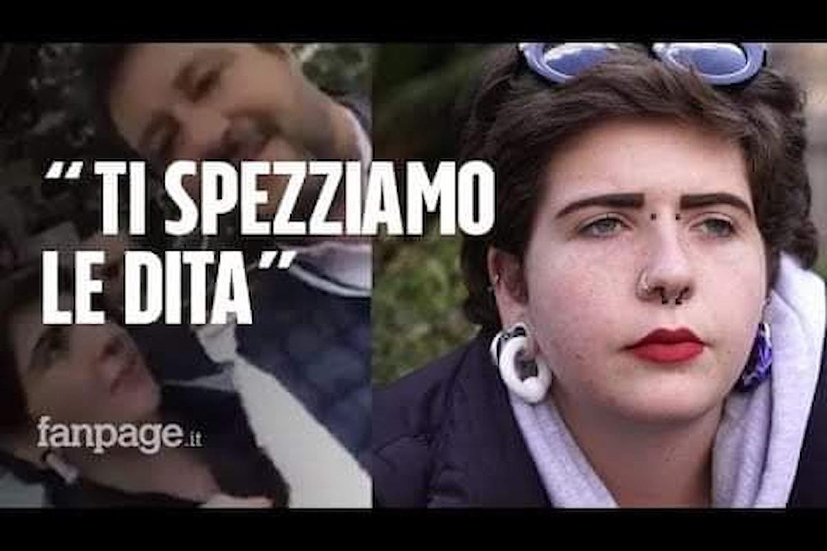 Valentina, minacciata e derisa per aver detto la verità in faccia a Salvini