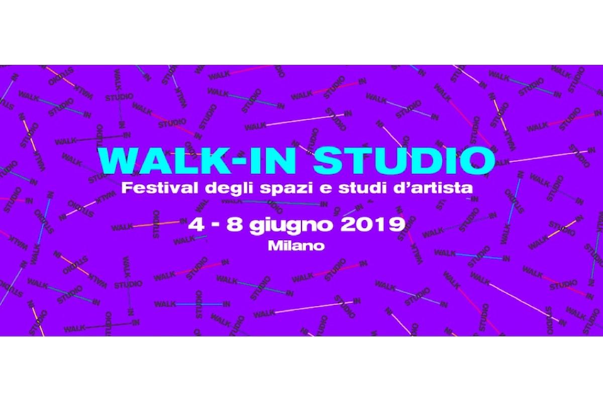 WALK-IN STUDIO: Spazi e studi d'Artista aperti in tutta la città