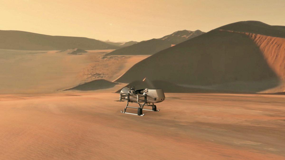 Una Libellula volerà su Titano per rivelarci i segreti della luna di Saturno
