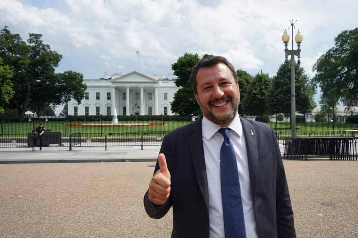 Matteo Salvini confonde Filadelfia con Washington e pretende di governare l'Italia