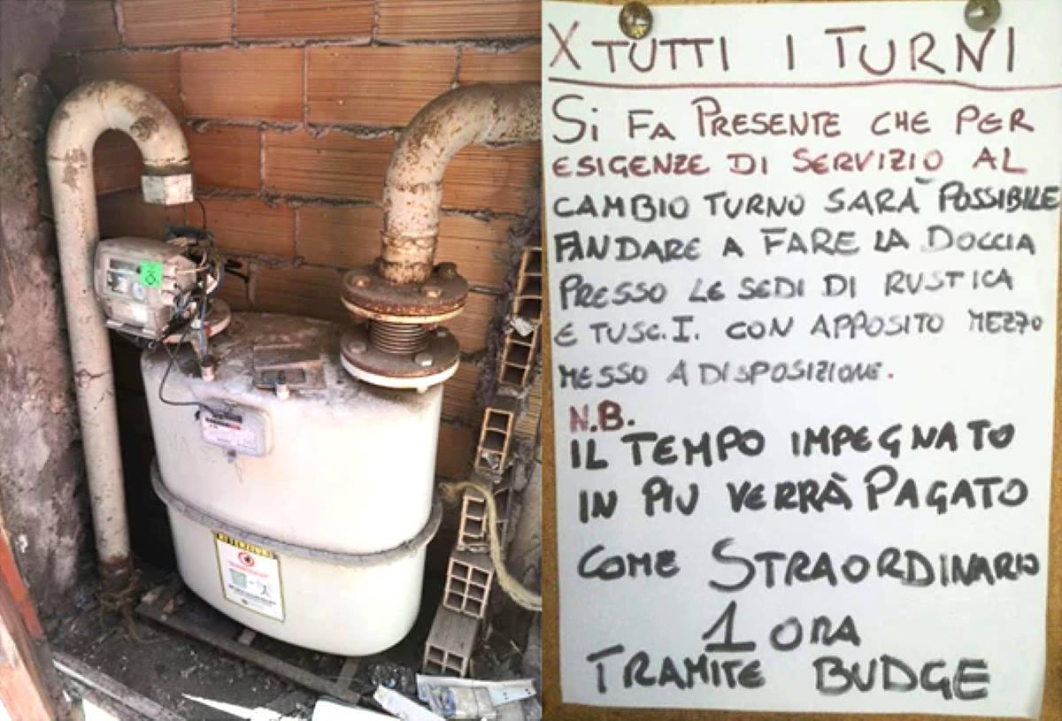 Ad un distaccamento dei VVF di Roma chiusa l'utenza del gas per morosità