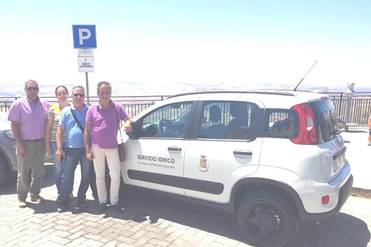 Il Comune di Petralia Soprana acquista una Panda 4x4 per il servizio idrico
