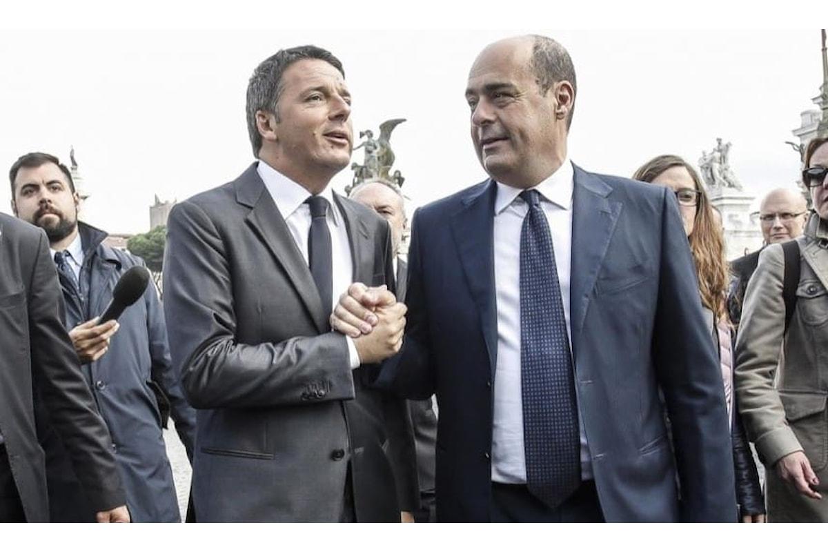 Crisi di Governo Scontro Dem tra Zingaretti e Renzi