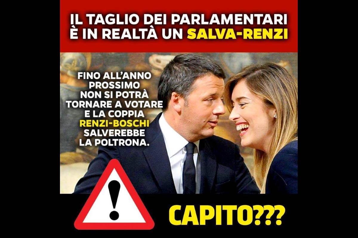 Confusione totale: adesso Salvini vuole votare il taglio dei parlamentari chiesto dai 5 Stelle
