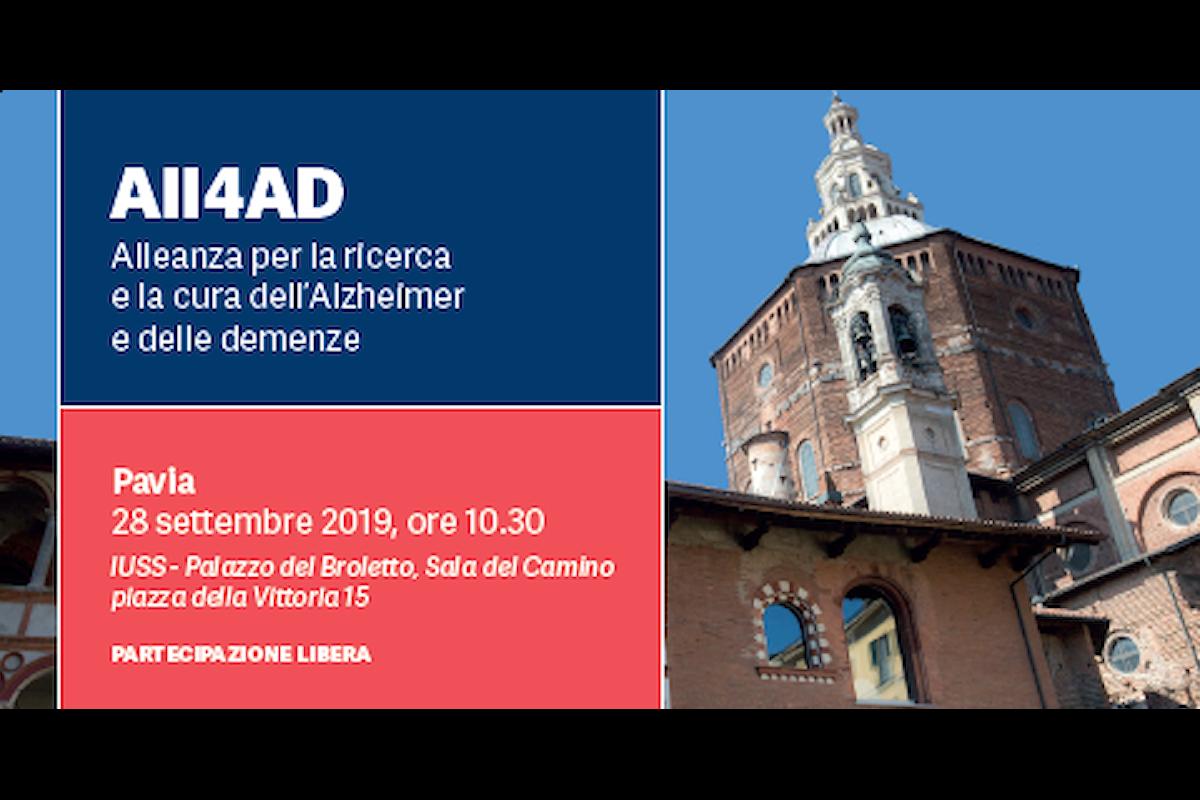 All4AD: a Pavia sabato 28 un incontro per conoscere meglio le demenze e l'Alzheimer