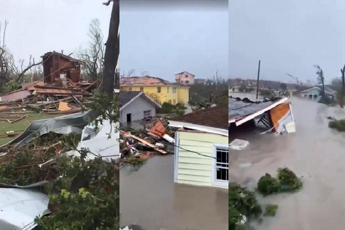 Dorian staziona sulle Bahamas proseguendo l'opera di distruzione dell'isola