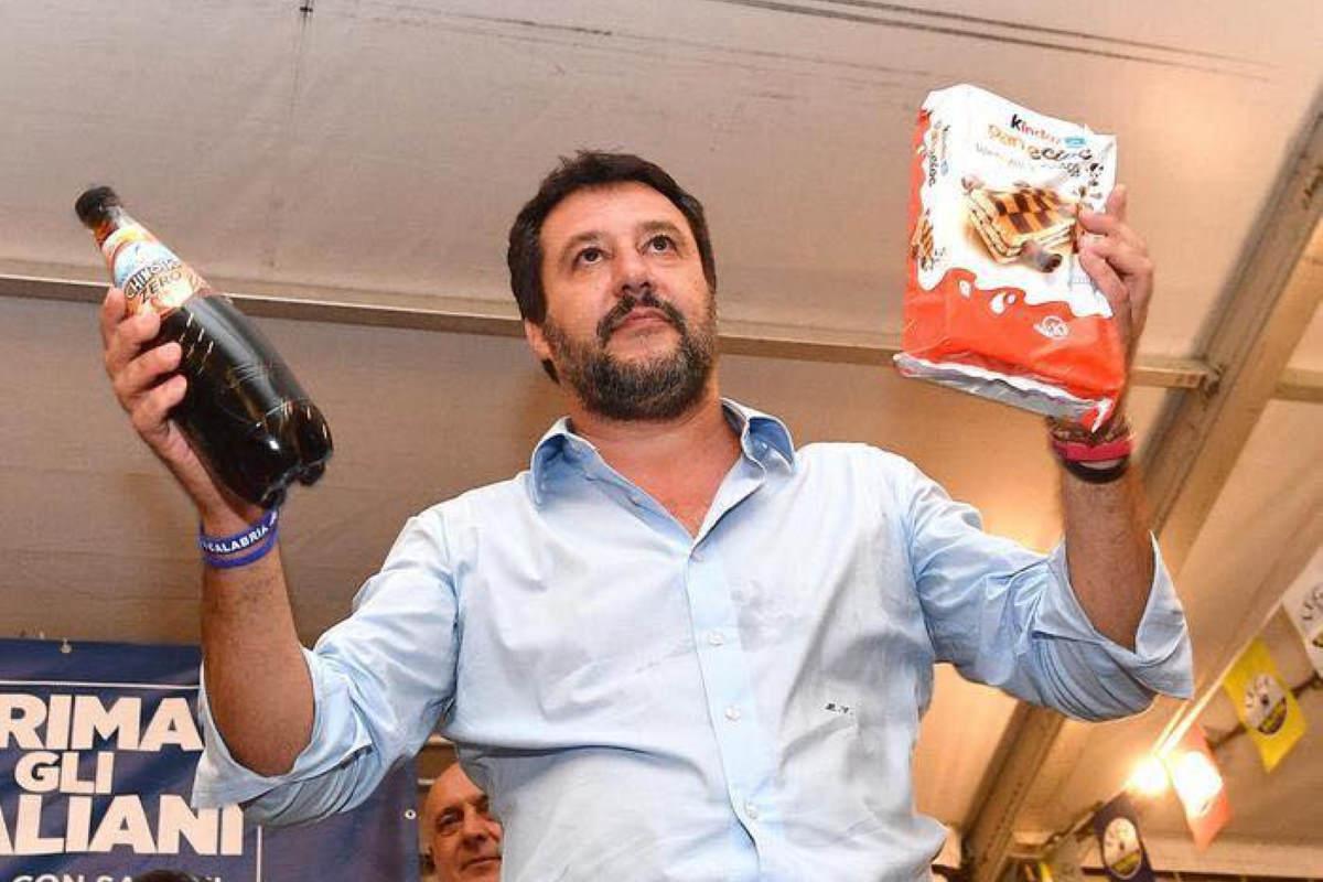 Evviva: adesso anche Salvini è diventato ufficialmente un gretino