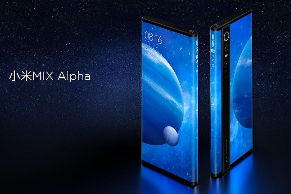 Xiaomi Mi Mix Alpha presentato ufficialmente: lo smartphone più bello di sempre e con fotocamera da 108 MP