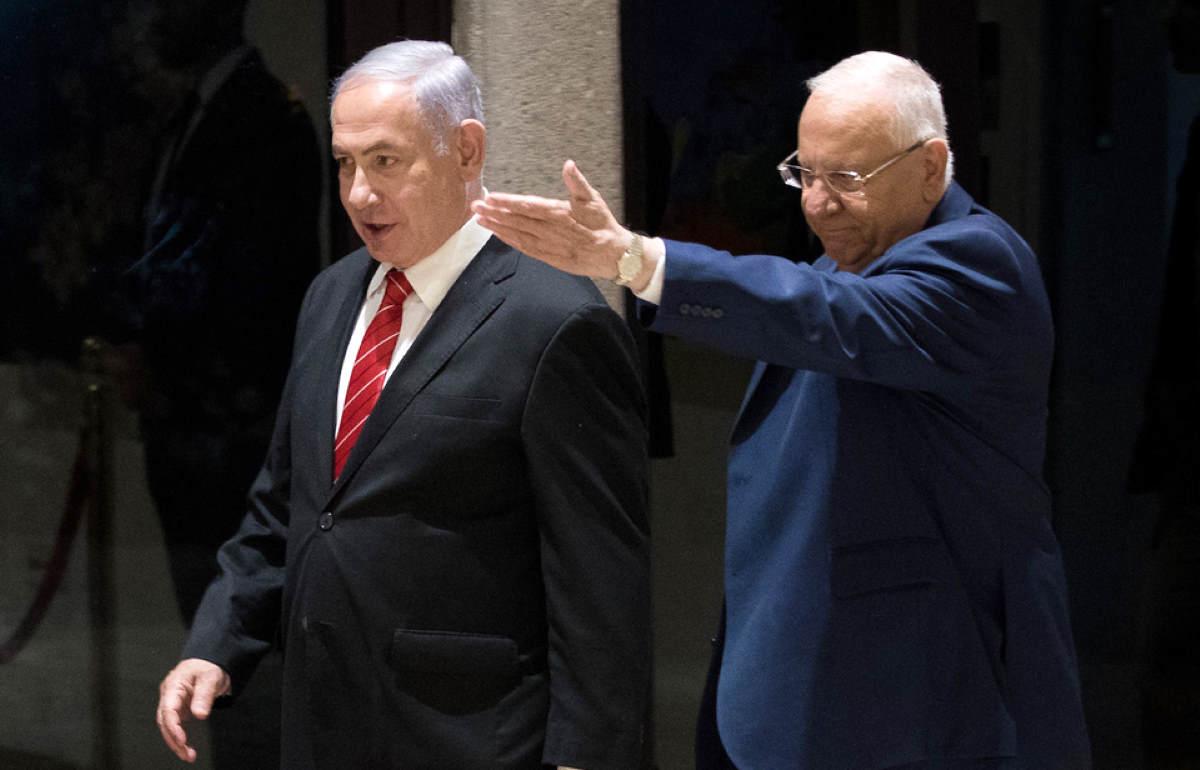 Rivlin assegna ancora a Netanyahu il compito di formare un nuovo governo, ma il suo tentativo appare velleitario