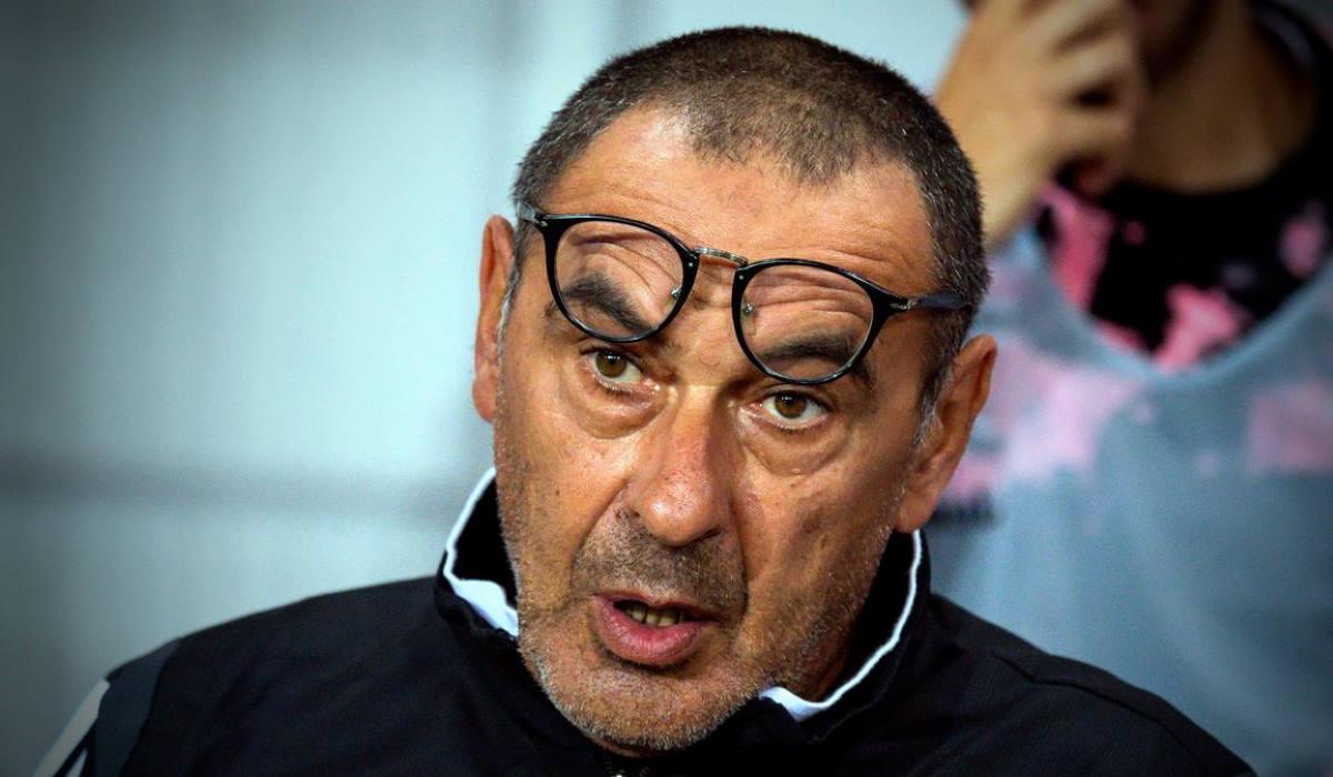 Sarri farà il suo esordio sulla panchina della Juve sabato prossimo al Franchi nel derby con la Fiorentina