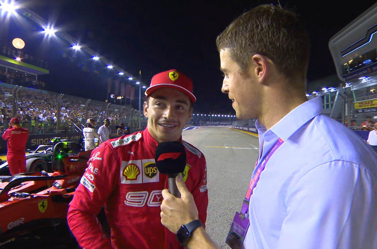 Formula 1, Leclerc ci ha preso gusto, nuova pole anche nel GP di Singapore
