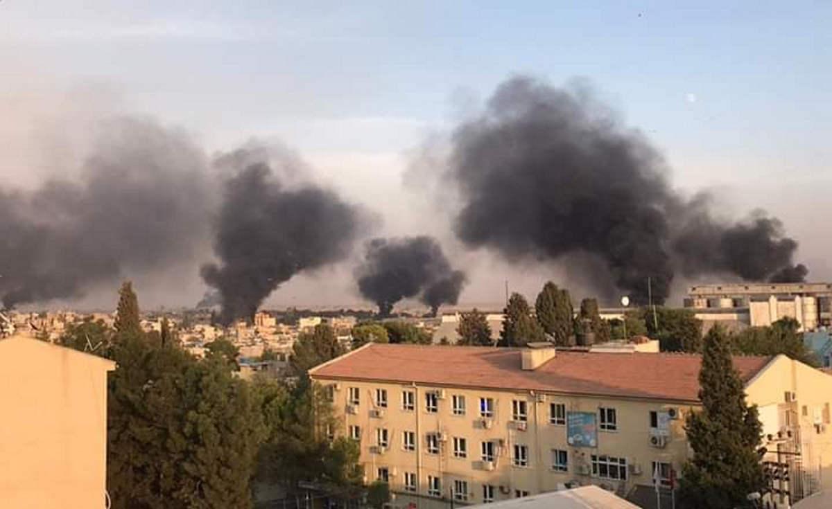 È iniziata nel pomeriggio di mercoledì 9 ottobre l'invasione della Turchia nella Siria del Nord