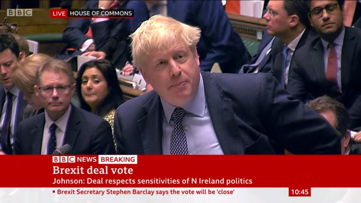 Brexit, i numeri alla Camera dei Comuni fanno prevedere che anche il piano Johnson sarà bocciato