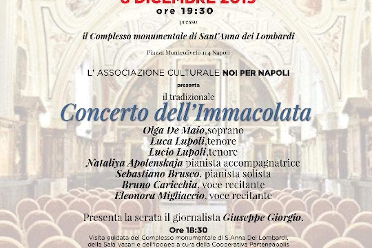 Tradizionale Concerto dell'Immacolata a Napoli
