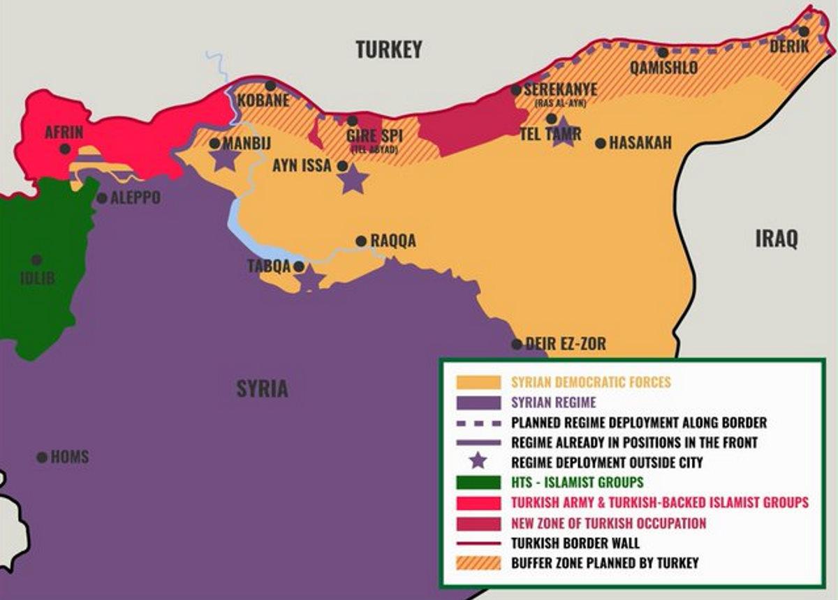 I curdi denunciano la violazione della tregua da parte della Turchia, e chiedono ai russi un dialogo per arrivare ad un punto d'incontro comune