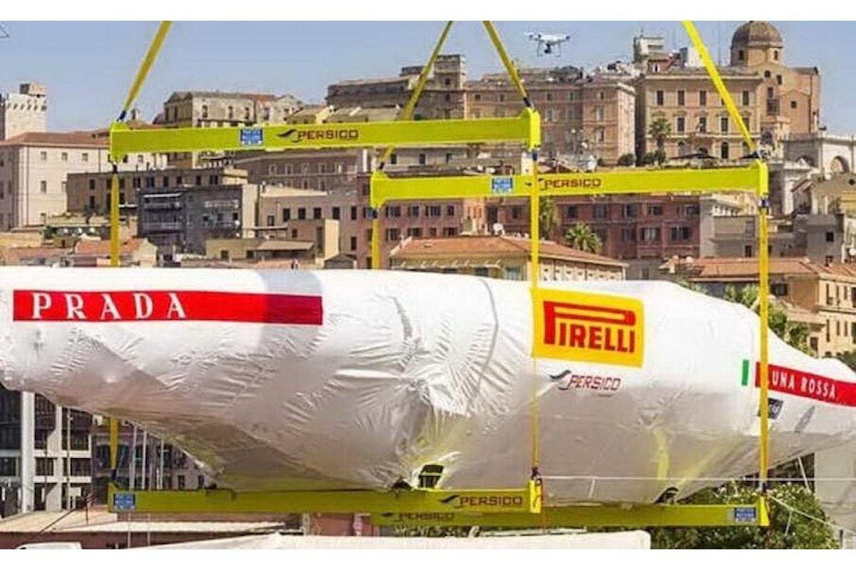 America's Cup Luna Rossa a Cagliari per la presentazione
