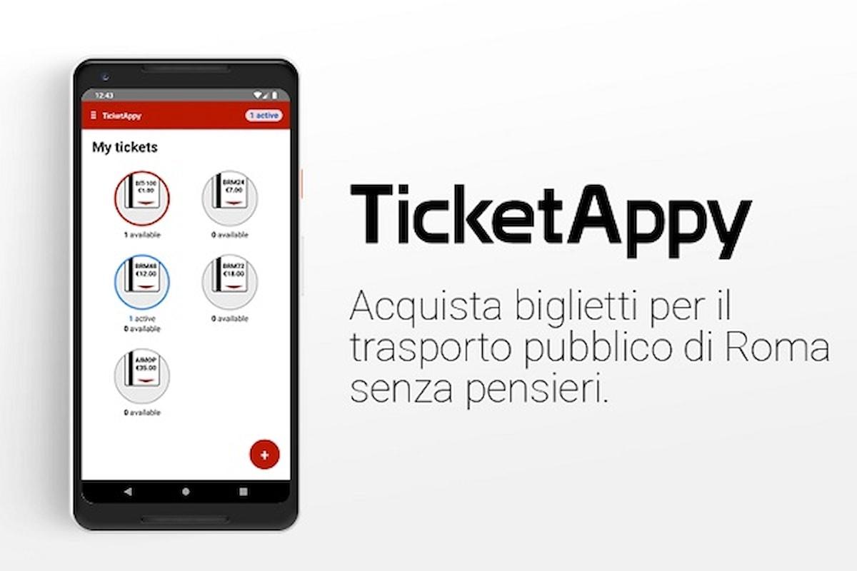 Nasce TicketAppy, Roma Smart City Ecologica, da oggi il biglietto del bus è sullo smartphone