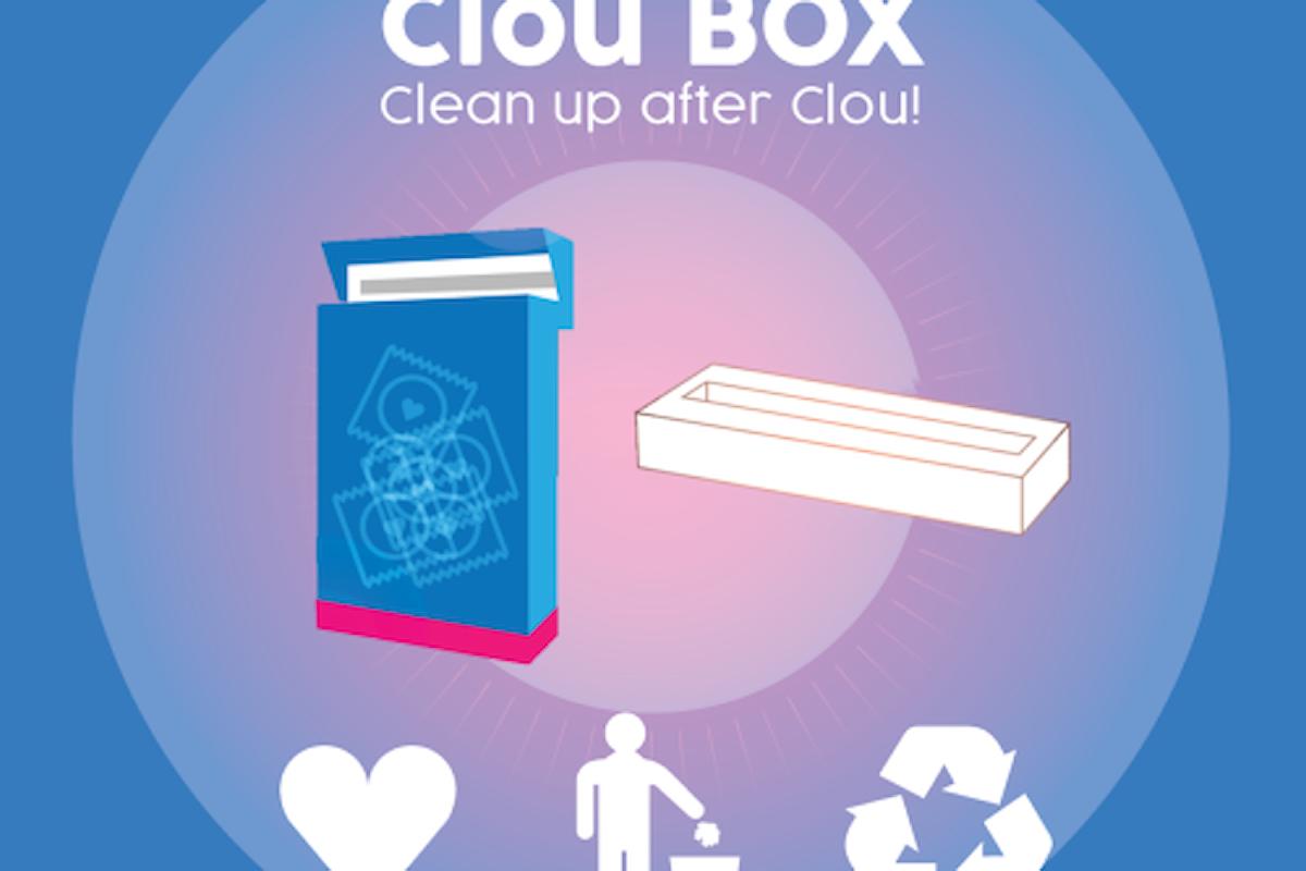 L'invenzione. La Clou Box per non lasciare a terra il preservativo usato.