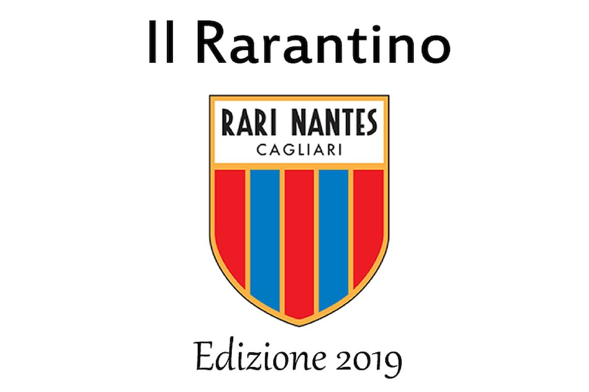 A Cagliari il Rarantino 2019 della società sportiva Rari Nantes Cagliari