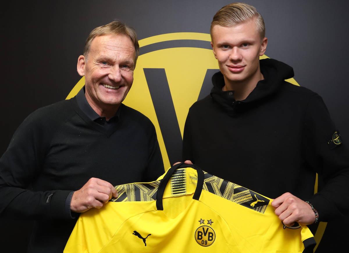 Haaland passa al Borussia Dortmund, beffate Juventus e Manchester United