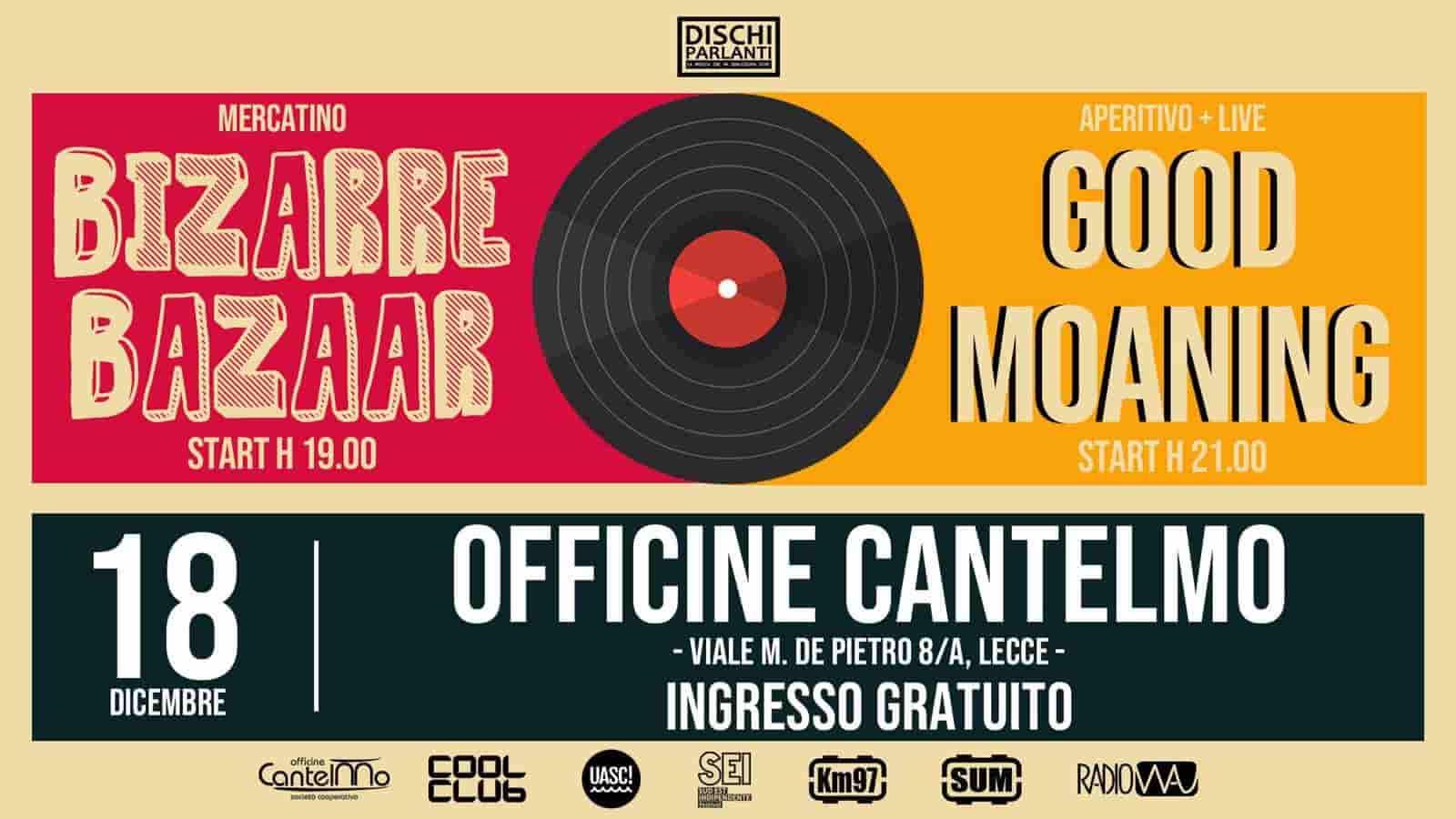 Good Moaning in concerto a Lecce per la speciale edizione natalizia di dischi parlanti targata Radio Wau