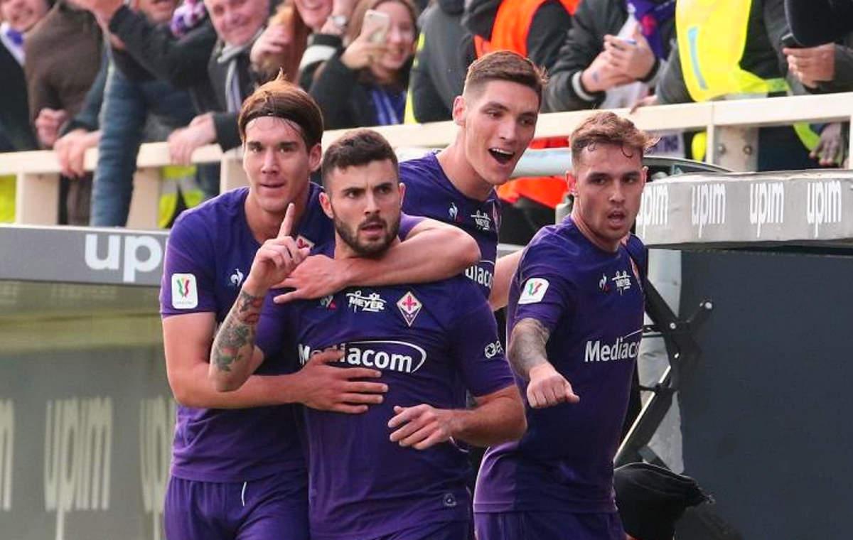 Un'incredibile Fiorentina batte l'Atalanta per 2-1 e passa ai quarti di Coppa Italia