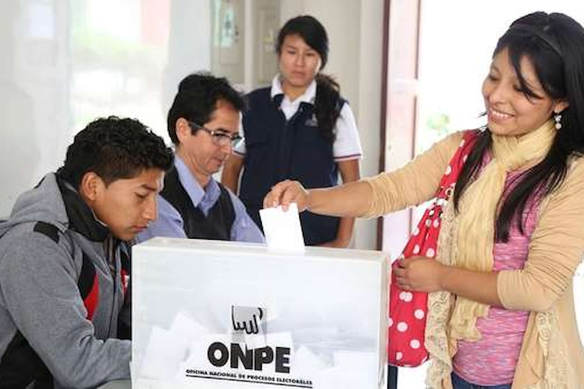 Perù: il 26 Gennaio Election Day per il Parlamento suppletivo. Si vota anche dall'Italia