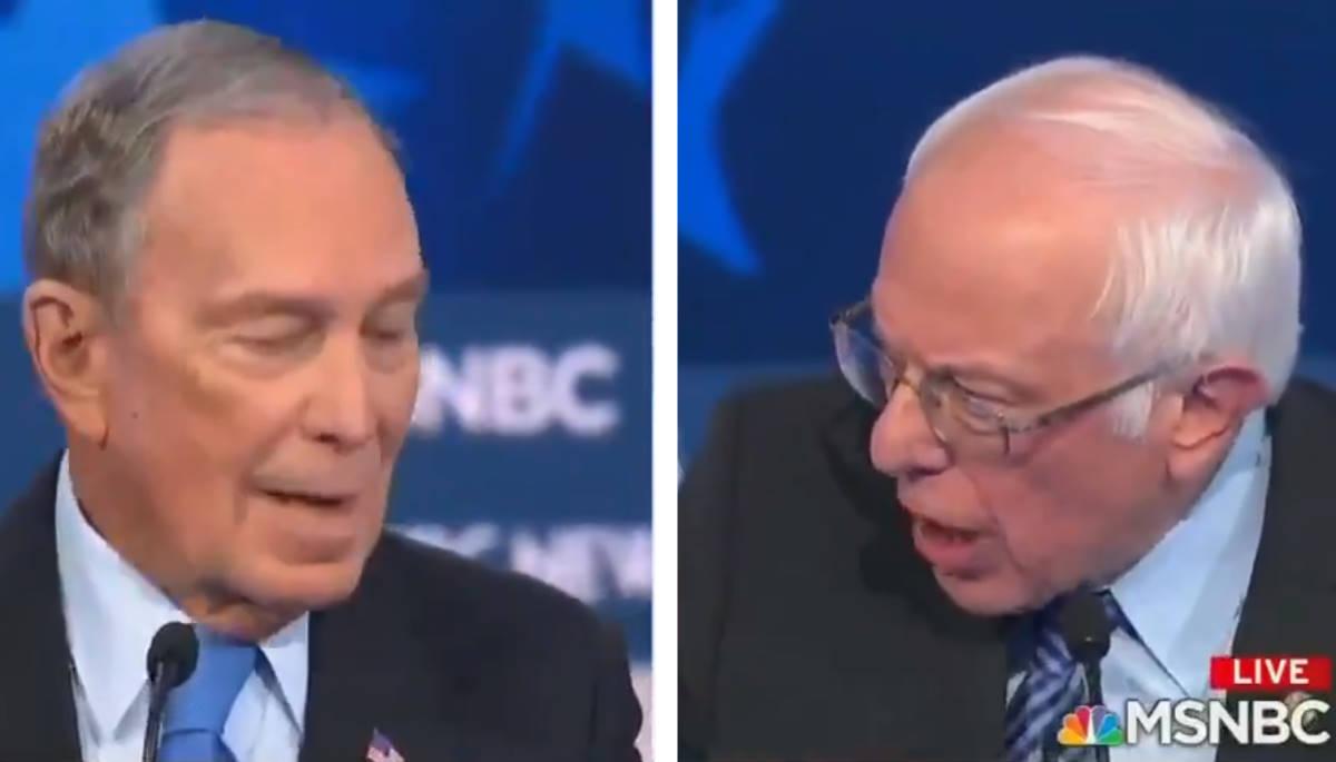 Una figuraccia quella fatta da Bloomberg nel suo primo dibattito pubblico per le presidenziali Usa 2020
