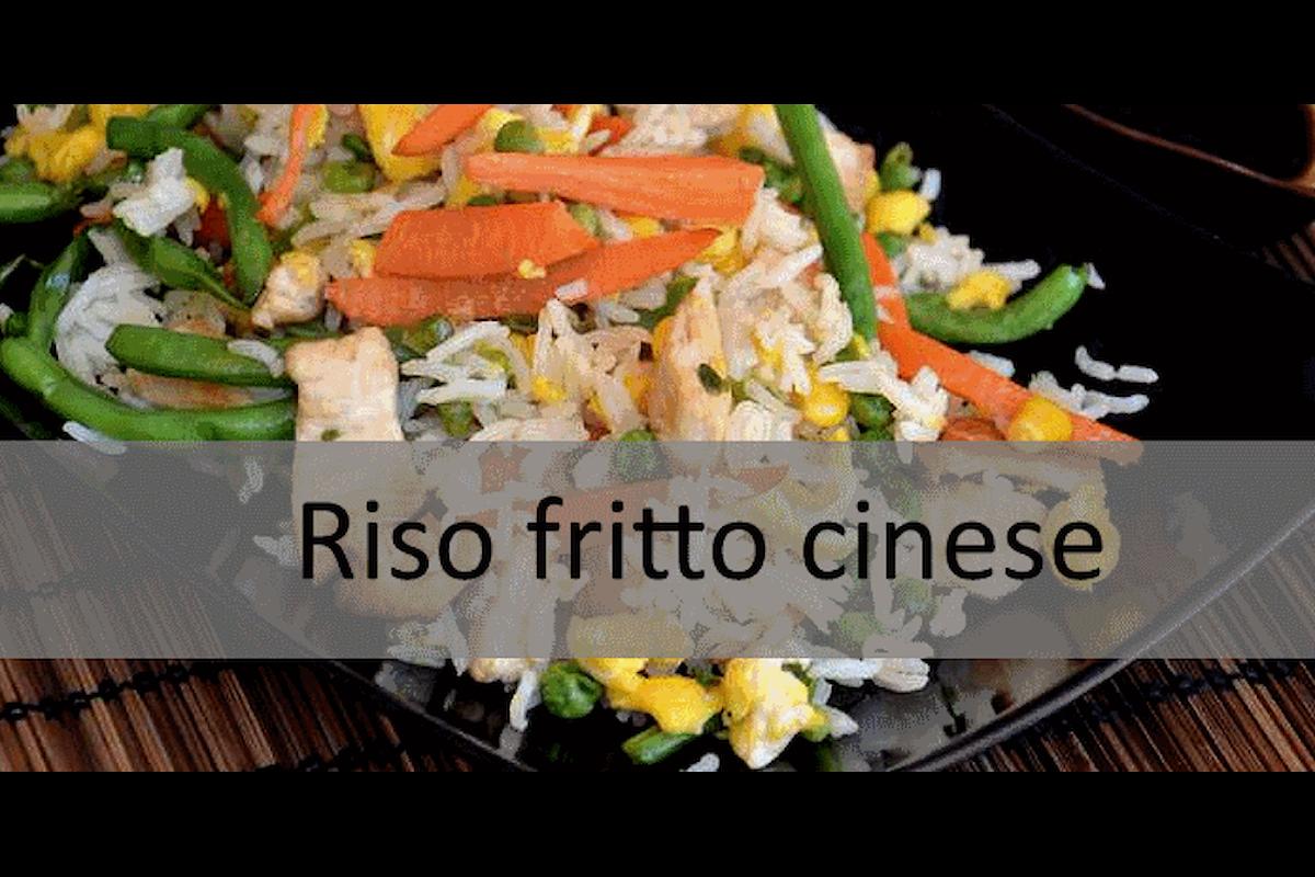 Ricetta senza glutine: Riso fritto cinese