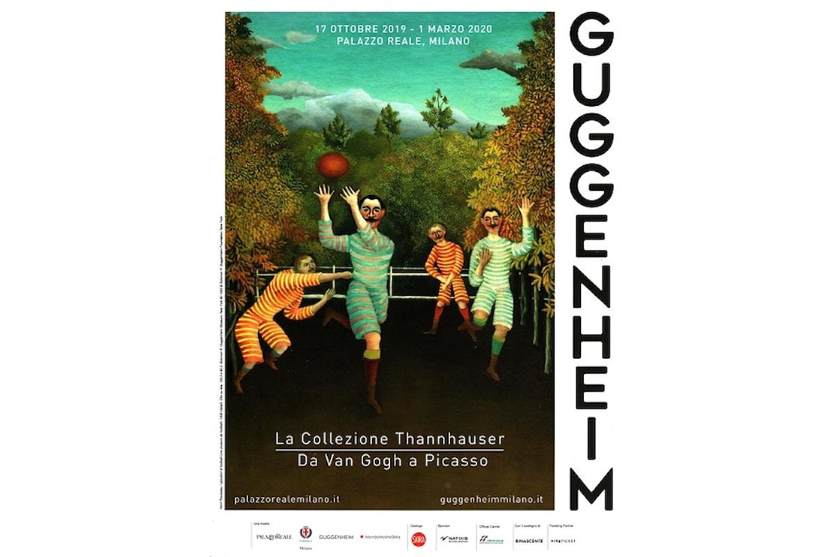 La mostra Guggenheim. La collezione Thannhauser, da Van Gogh a Picasso in programma a Palazzo Reale.