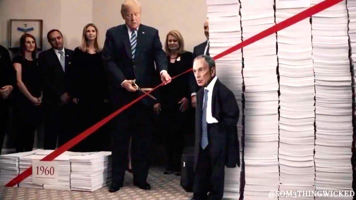 Dopo averlo definito razzista, adesso Trump dà a Bloomberg del nano
