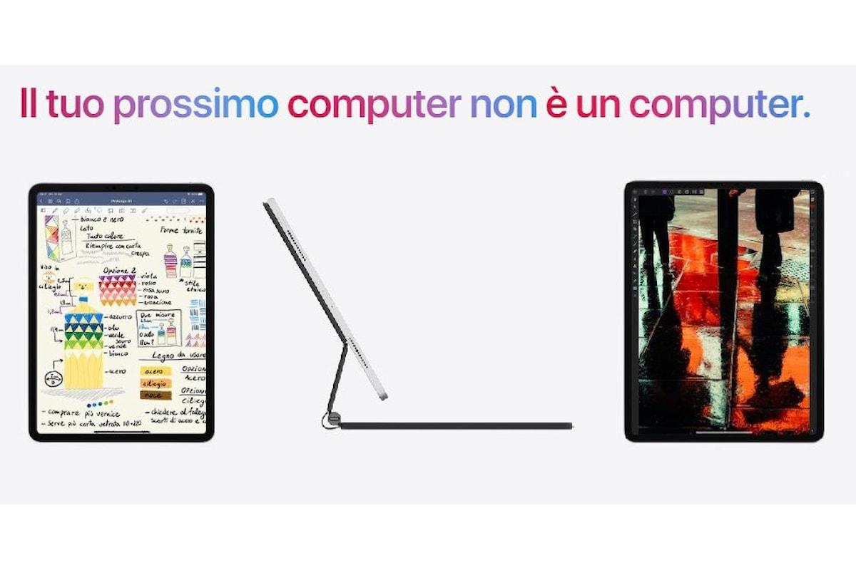 iPad Pro 2020 presentato ufficialmente: sembra un tablet, ma è più un piccolo notebook