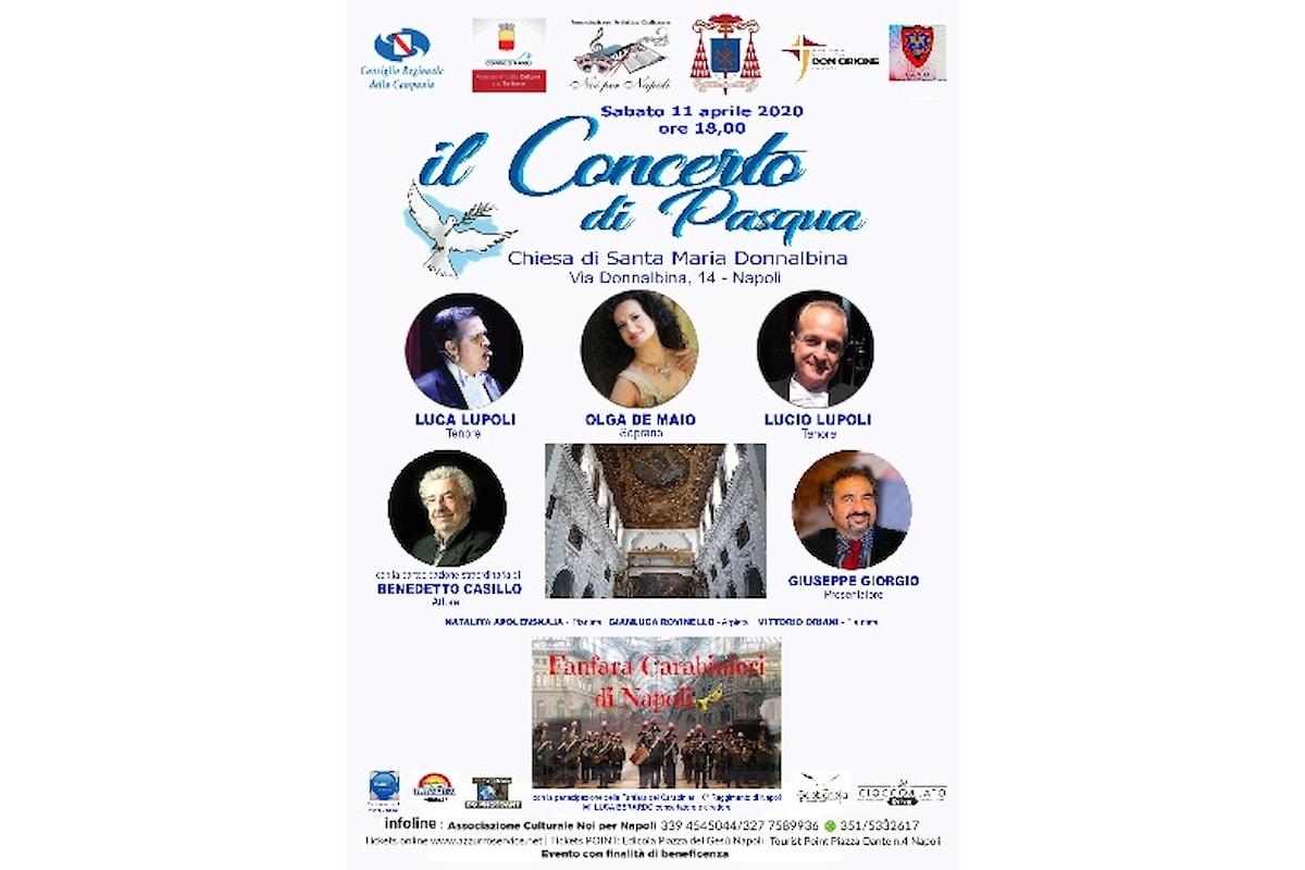 Concerto di Pasqua 2020 di Noi per Napoli