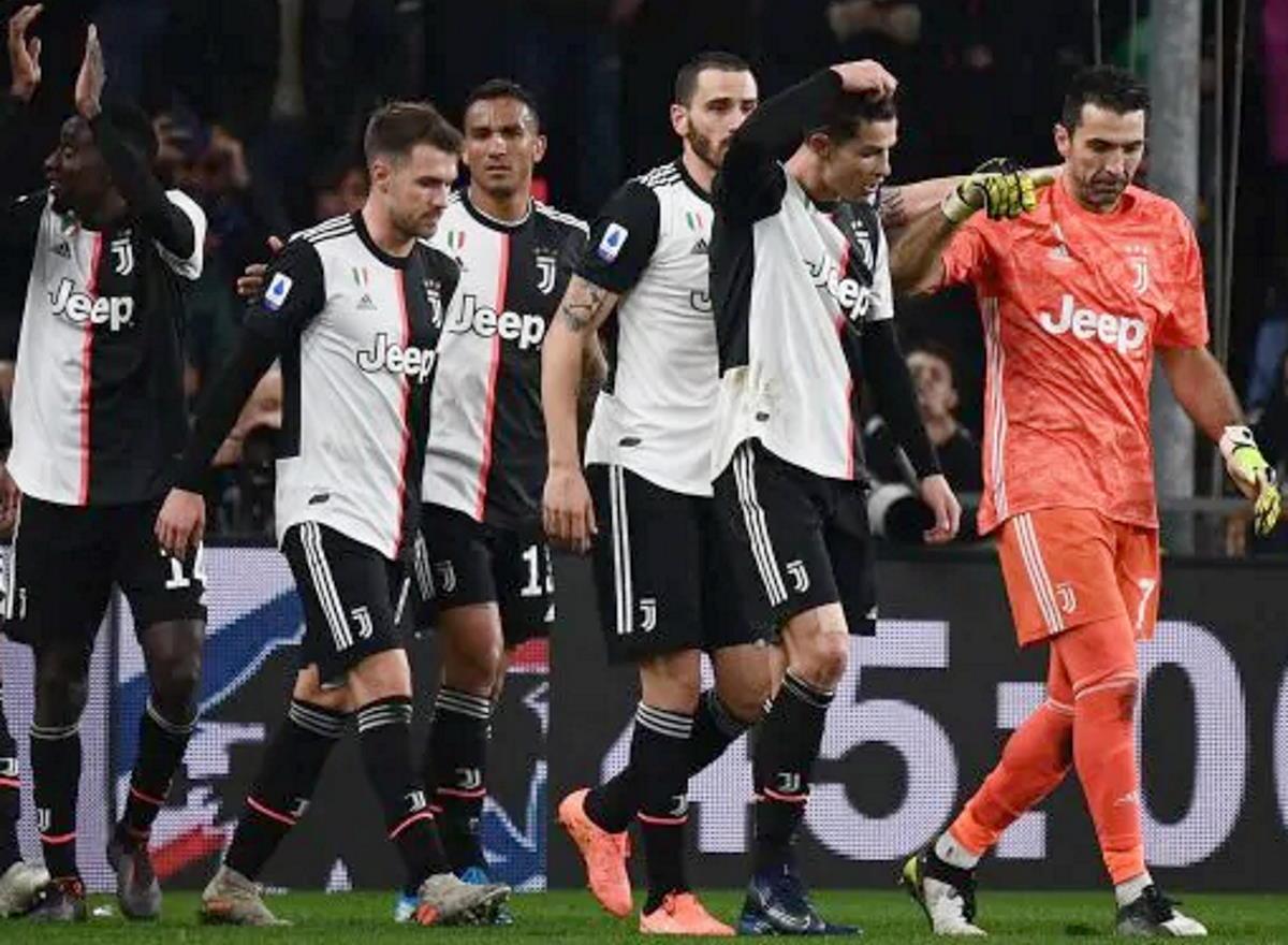 La Juventus ha comunicato che i propri tesserati hanno accettato una riduzione dello stipendio a causa dell'emergenza Covid