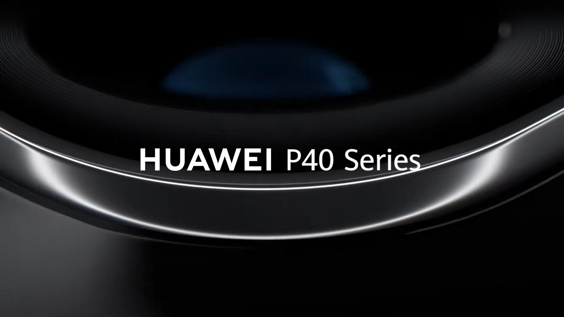 Un video ufficiale condiviso da Huawei mostra le curve del Huawei P40 e del Huawei P40 Pro