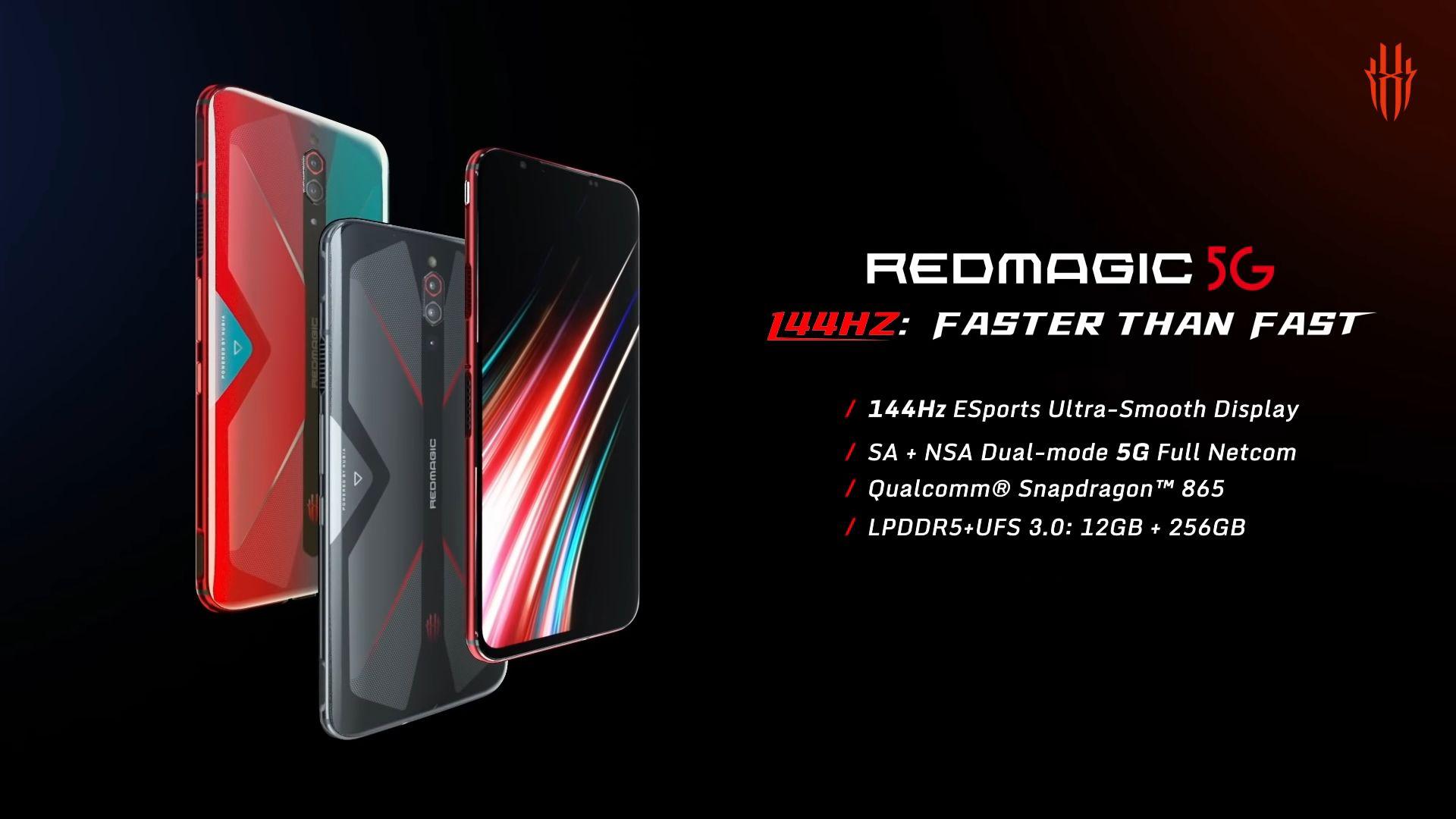 RedMagic 5G disponibile in preordine: Snapdragon 865, 5G, display a 144Hz...