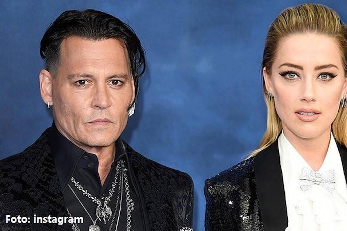 Amber Heard rischia tre anni di prigione per falsificazione di prove contro Johnny Depp