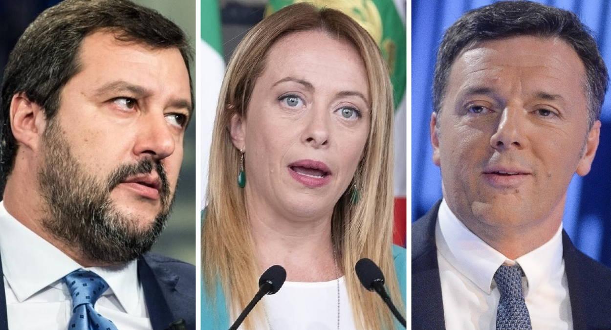 Il senso del fare per Renzi, Meloni e Salvini