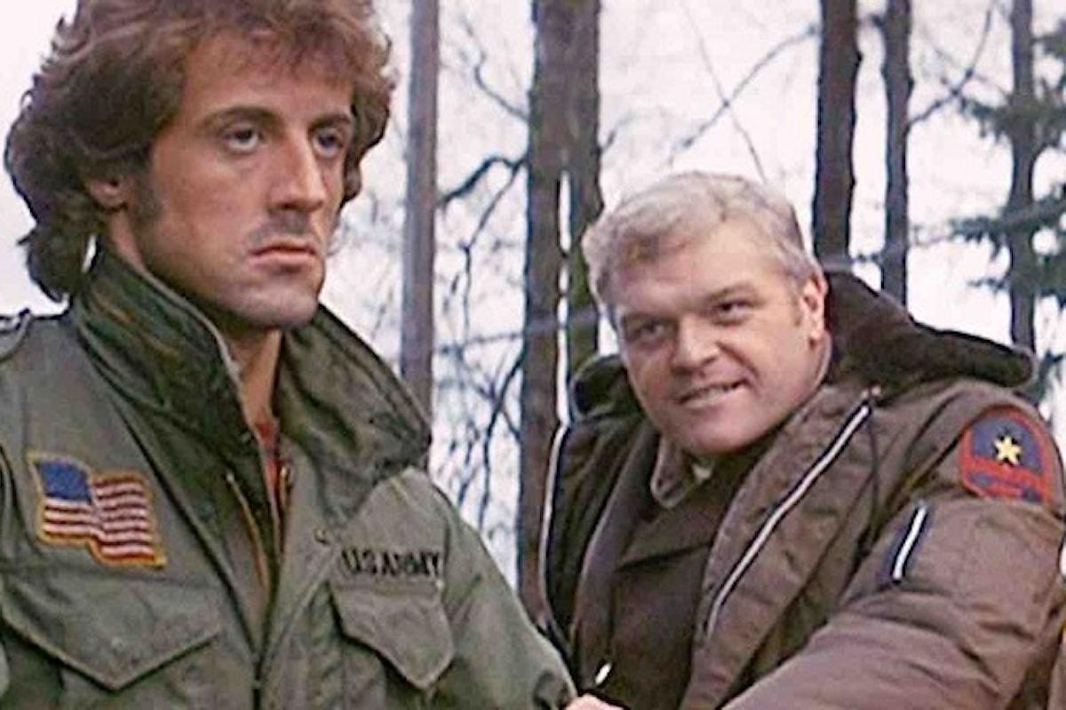 """Stallone rende omaggio a Brian Dennehy: """"Il mondo ha perso un attore geniale"""""""